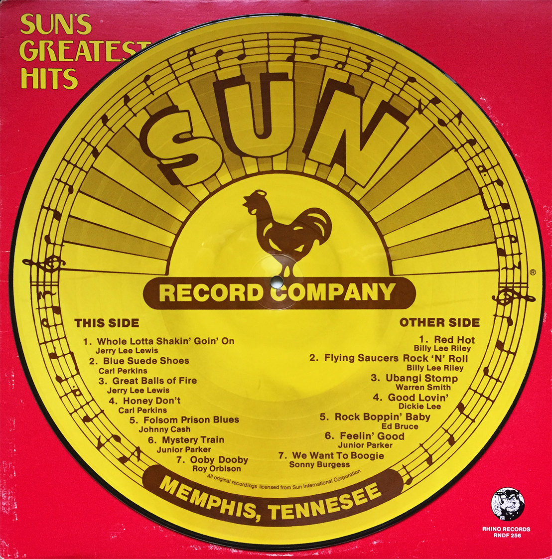 Sun Records Sun Diner Sun's Greatest Hits